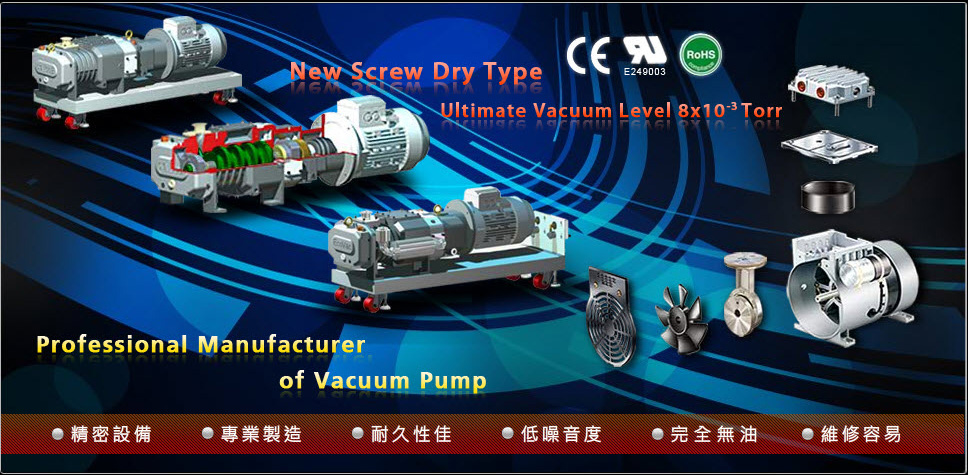 Professional Manufacturer of Vacuum Pump